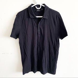 Hugo Boss Pima Cotton Polo T-Shirt Black